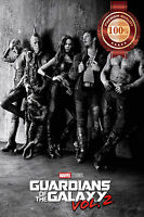 GUARDIANS OF THE GALAXY CHARACTERS GOTG VOL 2 II MOVIE PRINT PREMIUM POSTER