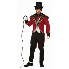 Mens Dashing Ringmaster Circus Halloween Costume