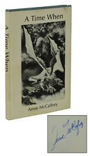 A Time When ~ ANNE MCCAFFREY ~ Signed Limited First Edition ~ 1st ~ 1975