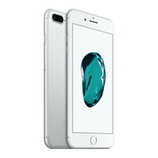 Apple iPhone 7 Plus 128GB Factory Unlocked - Silver Smartphone A1661 Phone iOS