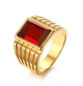 MultiStone Size 7 Gold Plated Double Rhinestone Ring