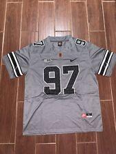 Joey Bosa Jersey Ohio State Buckeyes Grey Camo Size - Large