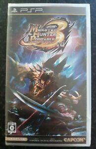 Monster Hunter 3rd Portable Japanese Sony PsP Brand New Sealed