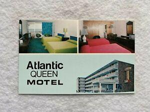 Myrtle Beach SC Postcard  ATLANTIC QUEEN MOTEL