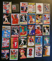 Barry Larkin 70 Different Baseball Cards (Cincinnati Reds)