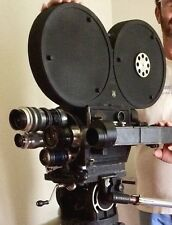 Vintage J.M. Wall 35mm Motion Picture Camera U.S. Army Signal Corps WWII