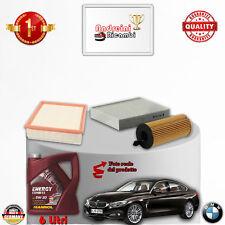 Kit Inspección Filtros + Aceite BMW Serie 4 F36 418D 105KW 143CV De 2014- >