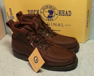 Duck Head Men/s Genuine Leather Boots.  Size 10.5M.  New in Box.