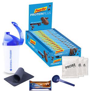 25,22€/kg Powerbar Protein Plus Low Sugar Eiweißriegel (30 x 35g Box) + BONUS