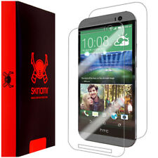Skinomi Transparent Clear Full Body Protector Film Cover for HTC One M8