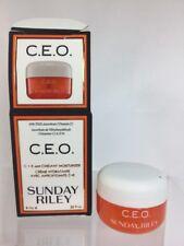 Sunday Riley C.E.O. C+E antiOxidant Protect Repair Moisturizer Deluxe Travel.3oz