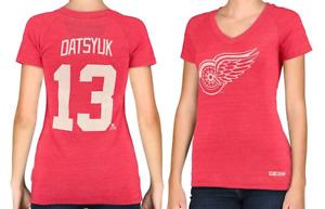CCM NHL Detroit Red Wings #13 Hockey Shirt New Womens X-SMALL