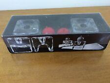 Ri-Jalka Finland 2 Glass Napkin & Candle Holder Orig Box Juhava Oy