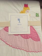 """1 Pottery Barn Kids Grace Embroidered Princess Duvet Cover Twin """"lots available"""""""