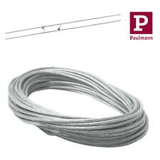 Paulmann Sicherheits Spannseil 2,5mm² isoliert 12m Länge Kupfer Wire Seil System