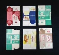 Vintage Lot of Ice Cream Advertising Boxes Unused New Old Stock