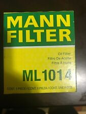 MANN Engine Oil Filter #ML1014