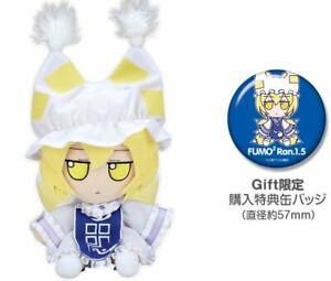 Touhou Plush Doll Series 40 Fumo Fumo Ran Ver.1.5 w/Button Badge F/S