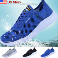 Men's Mesh Water Shoes Beach Quick Dry Surfing Walking Camping Gym Sneakers