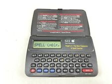 Seiko Instruments Roget's Ii Handheld Thesaurus Spell Checker Wd-1201