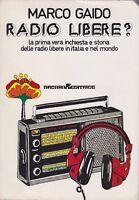 Marco Gaido, Radio libere?, Arcana, 1976, radio, musica, Situazioni
