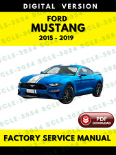 Ford Mustang 2015 2016 2017 2018 2019 Service Repair Workshop Manual
