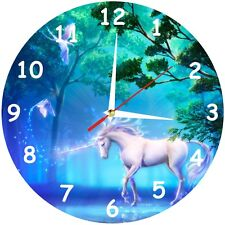 Magical Fantasy Unicorn Wall Clock Novelty Horse Quartz Home Time