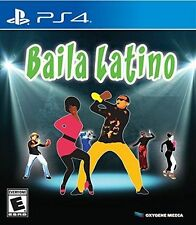 Baila Latino [PlayStation 4 PS4, Dance Music Rhythm Game] Brand New