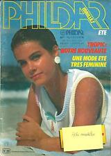 Catalogue tricot PHILDAR n° 98/Eté/1983/44 modèles femmes