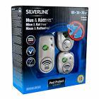 Silverline Mouse & Rat Free 80+30+30 M ² MR80-MR30x2 Ultras Sound Control