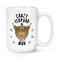 Pazzo Uomo Leopardo 426ml Possente Tazza - Divertente Animale Grandi