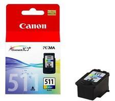 Cartuccia inchiostro colore ORIGINALE CANON CL-511 (2972B001) per MP 270