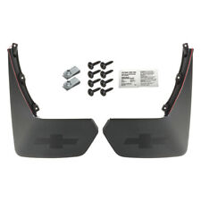 OEM GM Rear Splash Guards Mud Flaps Black 15-19 Chevrolet Suburban 22922768