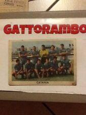 Figurina Cartonata N.108 Squadra Catania Rarissima-Ed.Edj Calciocampioni