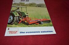 Deutz Fahr SM 30 40 Disc Mower Dealer's Brochure DCPA2