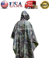 36a99eb5108cb Multifunctional Military Impermeable Camo Raincoat Waterproof Rain Coat  Poncho