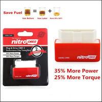Red Eco OBD2 Economy Fuel Saver Tuning Box Chip For Car Gas Saving