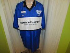 """Alemannia Aachen Nike Auswärts Trikot 1999/00 """"A M"""" + Handsigniert Gr.XXL Neu"""