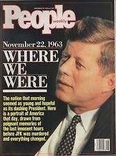 People Magazine November 28 1988  John F. Kennedy