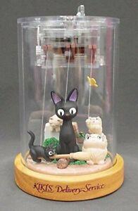 Studio Ghibli Jiji Puppet Music Box /height of about 13.5cm 403510