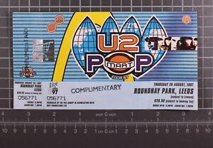 U2 Ticket Popmart Tour 28 August 1997