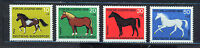 ALEMANIA/RFA WEST GERMANY 1969 MNH SC.B442/B445 Horses