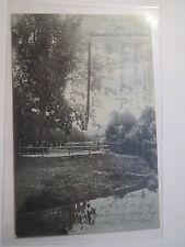 Jena - Landsmannschaft Suevia - 1910 - Paradies mit Blick auf Saale / Studentika