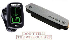 FISHMAN NEO-D SINGLE COIL MAGNETIC SOUNDHOLE PICKUP ( FT-2 TUNER ) PRO-NEO-D01