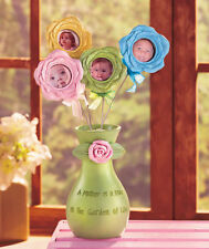 Sage Green Sentiment Vase with Flower Frames Mother's Day Gift Decorative Accent