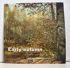 "33 tours WOODY HERMAN Disque Vinyl LP 12"" EARLY AUTUMN Jazz CAPITOL 20 039"