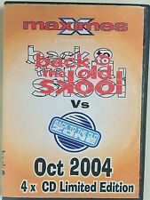 Maximes Back To The Old Skool vs Back to the Old Zone 4xcd October 2004