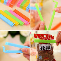 5 Pcs/Set Kitchen Storage Food Snack Sealing Bag Clips Plastic Tool Clamp Random