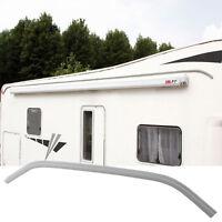 Wohnwagen Wohnmobil Regenrinne Drip Stop Fiamma, Polyvinyl - Alu, 300 cm, grau