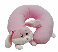 Cozy Time Funky Airhead Inflatable Pillow Rabbit. Soft Cuddly Plush Toy.